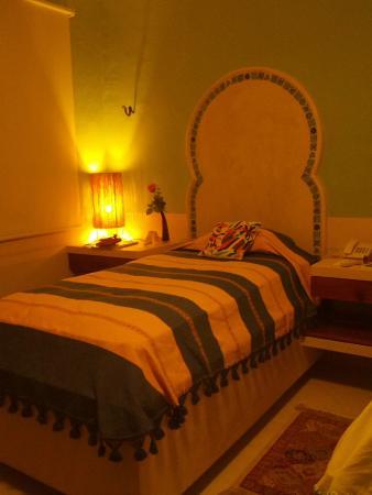 Hotel Casa San Angel: Bed