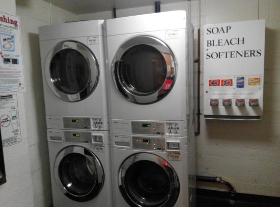 Coin operated laundry service at the basement - Picture of
