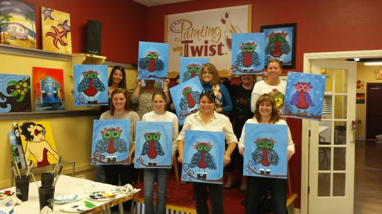 Girls Pre Christmas Brunch Picture Of Painting With A Twist