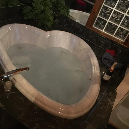 Red Bud Valley Resort: Jacuzzi in cabin 7D