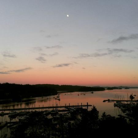 Mariner's Loft: Beautiful sunset view