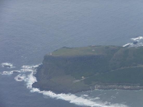 飛行機から見た東崎 - Picture of Yonaguni-jima Island, Yonaguni-cho ...