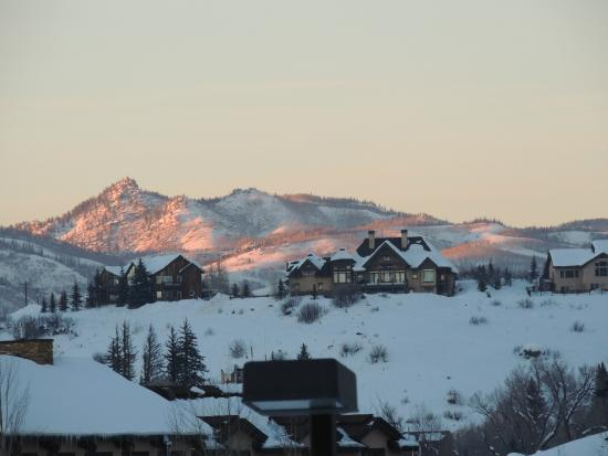 The Village at Steamboat Springs: town 2 blocks away