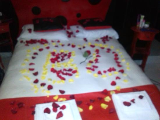 Hotel Portal de Oxum: Noche romantica