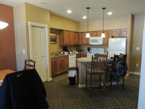 The Village at Steamboat Springs: kitchen