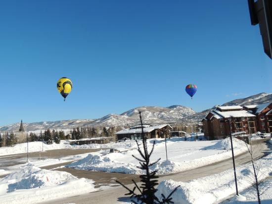 The Village at Steamboat Springs: one day i opened the curtains and ......