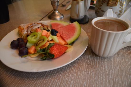 Harlem Renaissance House B&B : breakfast