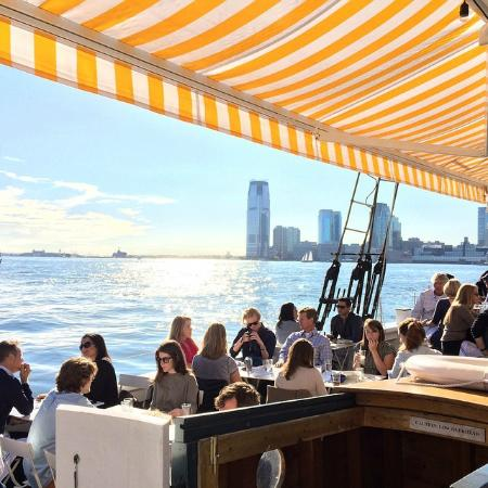 Photo of American Restaurant Grand Banks at Pier 25, New York City, NY 10013, United States