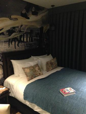 Bedroom and Mural