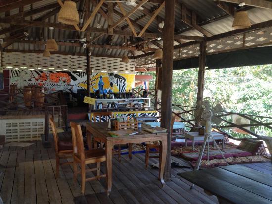 Bang Bao Cliff View Resort: Het restaurant waar we paar keer heerlijk hebben gegeten