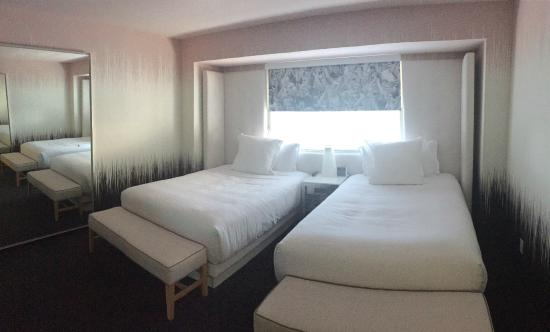 World Tower Double Bed Room Picture Of Sls Las Vegas