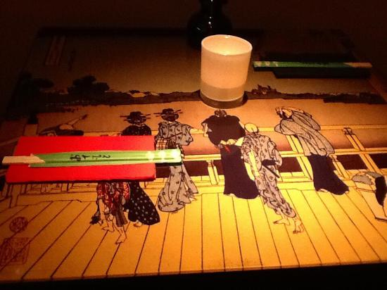 SushiTrue: Mesas divinas