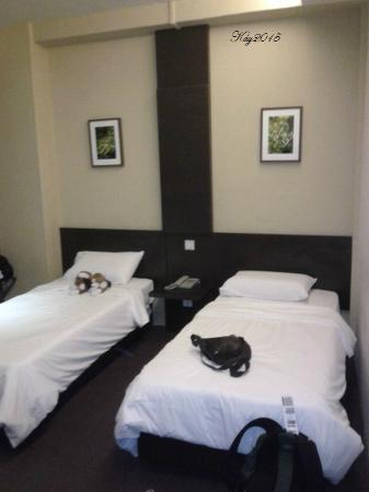Broadway Hotel Singapore: twin bed