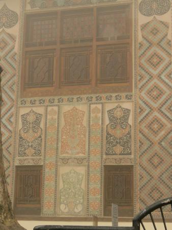 Sheki Khan's Palace : Palace windows