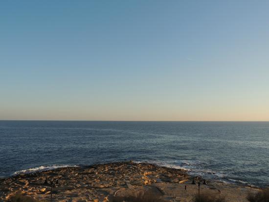 Europa Hotel: Mar mediterrâneo visto do quarto