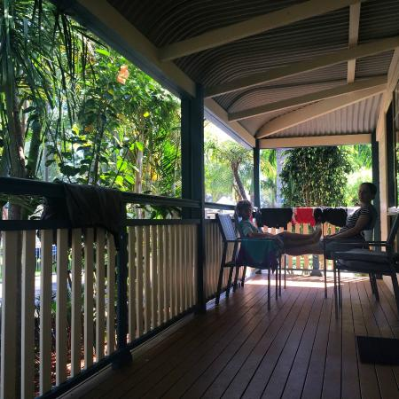 "BIG4 Great Lakes at Forster Tuncurry: ""The Villa"" - Veranda"