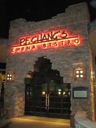 P.F. Chang's : PF Changs main entrance (Jan 2015).