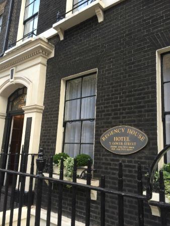 Regency House Hotel: Front Entrance
