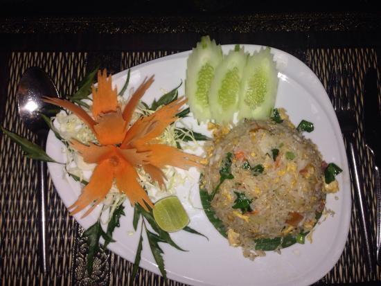 Thailandia : Friend rice vegetale