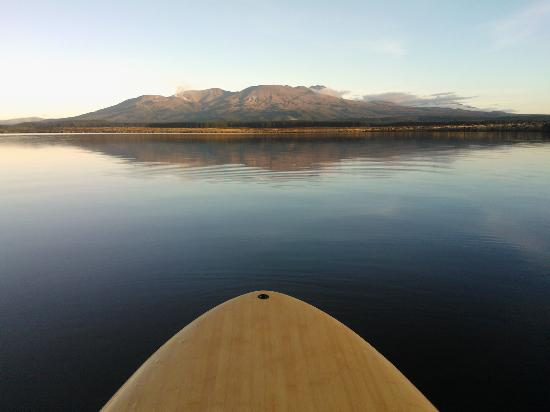National Park Village, New Zealand: Stand Up Paddle Board Bliss