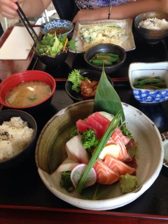 lunch special sashimi bento box picture of mizu japanese restaurant brisbane tripadvisor. Black Bedroom Furniture Sets. Home Design Ideas