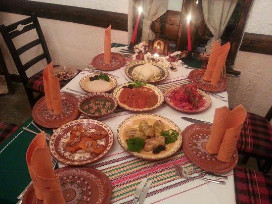 Manastirska Magernitza: Traditional Bulgarian Christmas Eve Repast