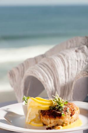 Seaglass Oceanfront Restaurant & Lounge: One of Seaglass' most popular starters, the Jumbo Lump Crabcake