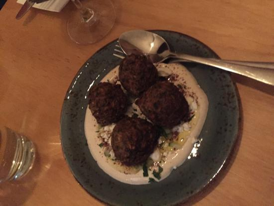 Walker Bros Wine bar: Zucchini balls