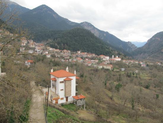 Archontopetra : Θέα του ξενοδοχείου