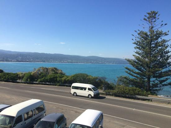 Grand Pacific Hotel Lorne: views from first floor