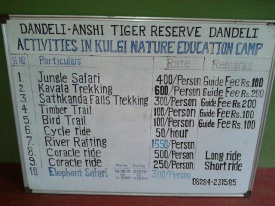Kulgi Nature Camp: Activities