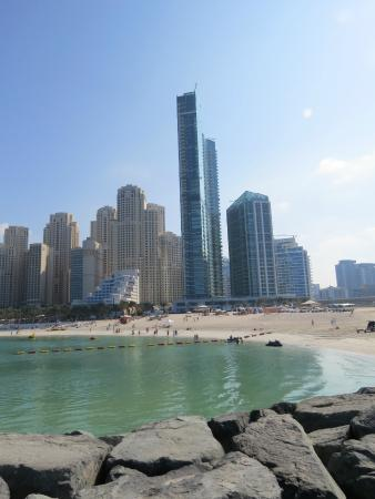 Doubletree By Hilton Hotel Dubai Jumeirah Beach View From The