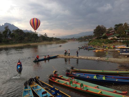 فيلا نام سونج: View from garden