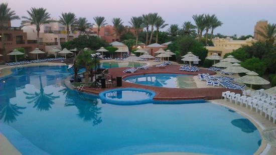 Nubian Island Hotel: view from our room