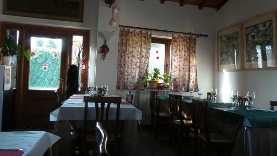 La Francigena: Saletta pranzo