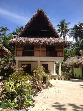 Cagbalete Island, Filippinerna: Main house