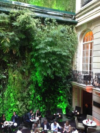Pershing Hall : #murvégétal #PershingHall