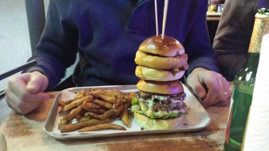 Notorious pig burger - Picture of The purple pig Hull