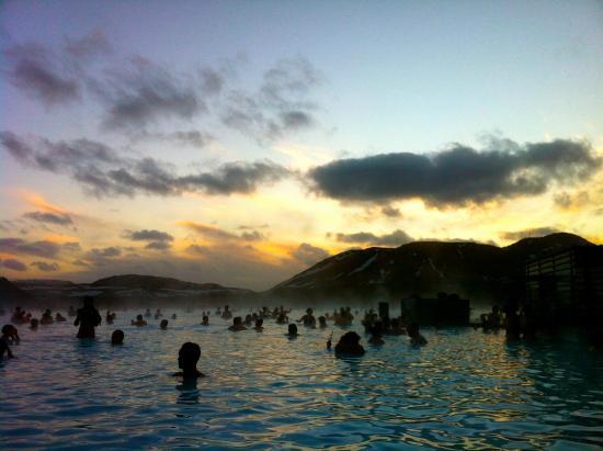 Grand Hotel Reykjavik: Blue Lagoon at 10:30am on December 30, 2014