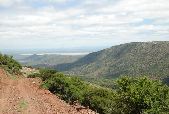 Addo Elephant National Park, Sudáfrica: Descend to the Darlington Dam