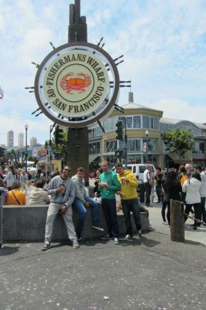 Crab Station at Fishermans Wharf