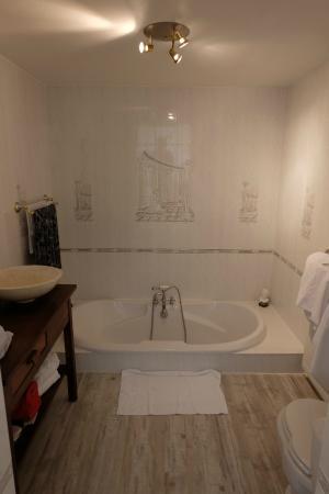 Salle de bain, déco d\'inspiration grecque - Photo de Domaine du ...