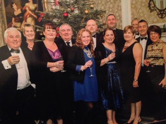 Sedgebrook Hall: The start of a lovely evening at the New Years Eve Gala