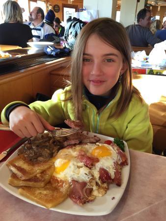 Rifugio Pra' Rodont: Il piatto dello sciatore