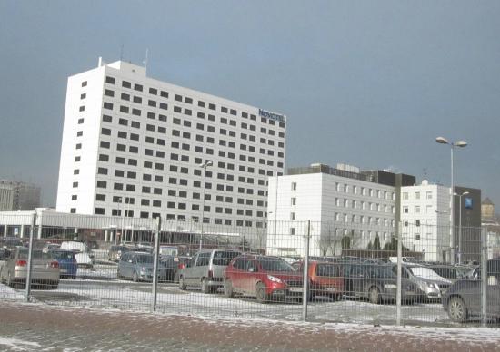 Hotel building - Picture of Novotel Katowice Centrum