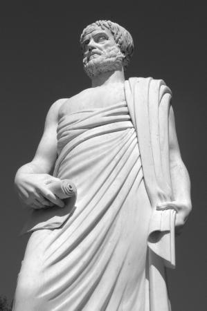 Aristotle Park - Aristotle's Statue