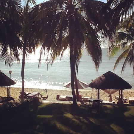 Saigon Phu Quoc Resort: viewfrom balcony villa