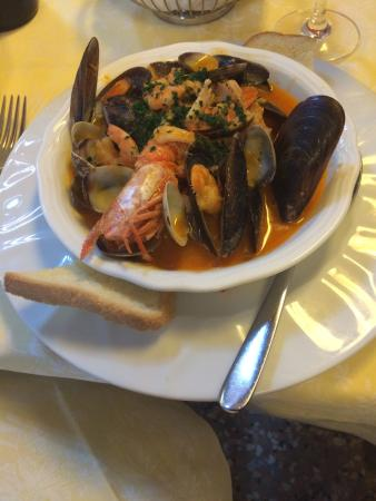Ristorante San Trovaso : Рыбный суп
