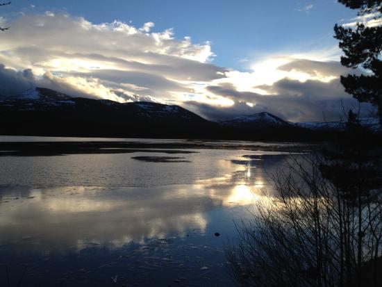 Culdearn House: Loch Morlich