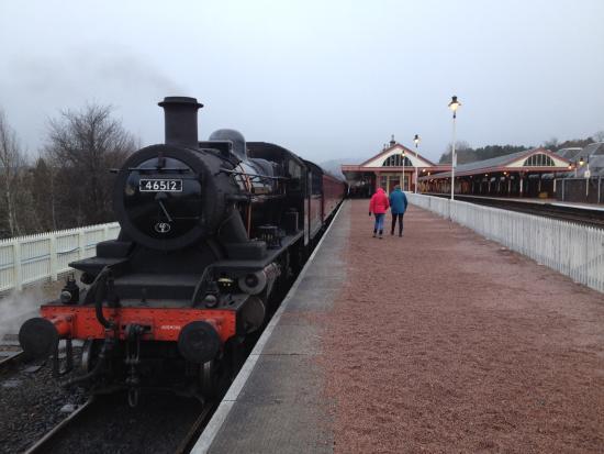 Culdearn House: Strathspey Steam Railway